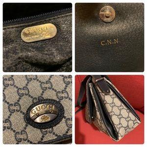 Gucci Bags - Vntg. Gucci GG Plus Shoulder/Clutch Bag